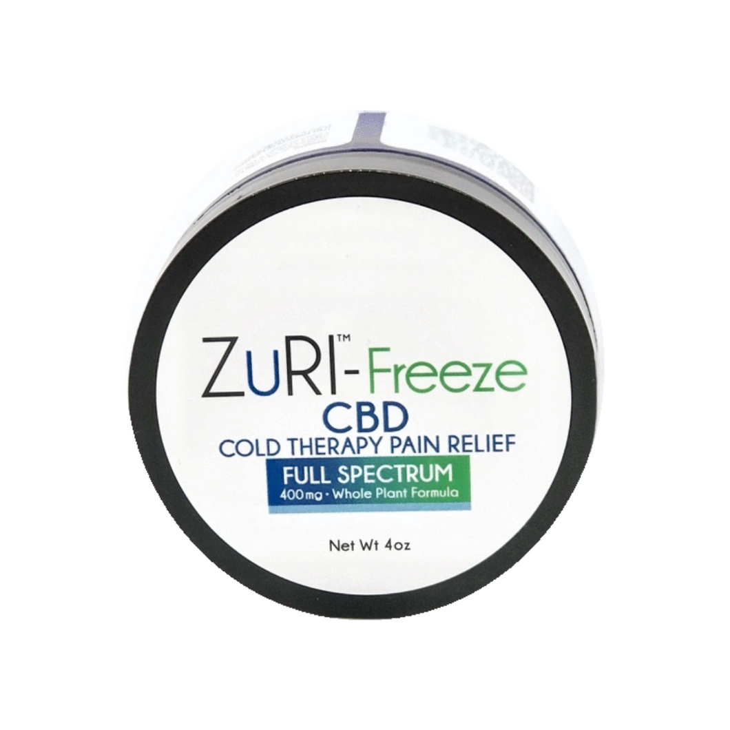 ZuRI® Z-Freeze Muscle Rub 400mg (Full Spectrum)