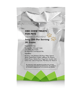 CBDHempOil® - CBD Chew Treats For Pets