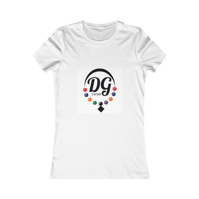 Women's Favorite DGCorners T.Shirt , simple and matching all colors of your choice .