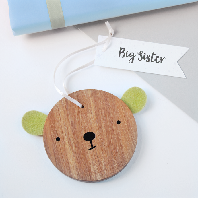 BB-NB-09 / Big Sister Bear Decoration