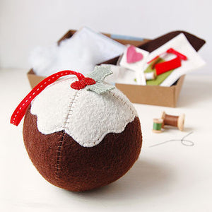 CK-C-01 / Make Your Own Christmas Pudding Craft Kit