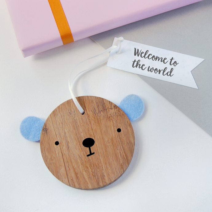 BB-NB-01 / New Baby Bear Decoration