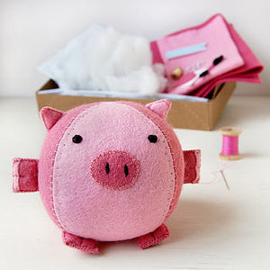 CK-A-04 / Make Your Own Piglet Craft Kit