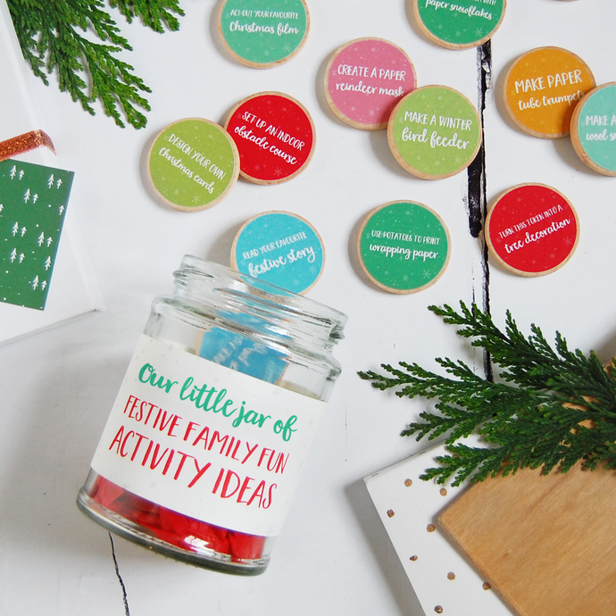 AJ-A-02 / Festive Family Fun Activity Ideas Jar