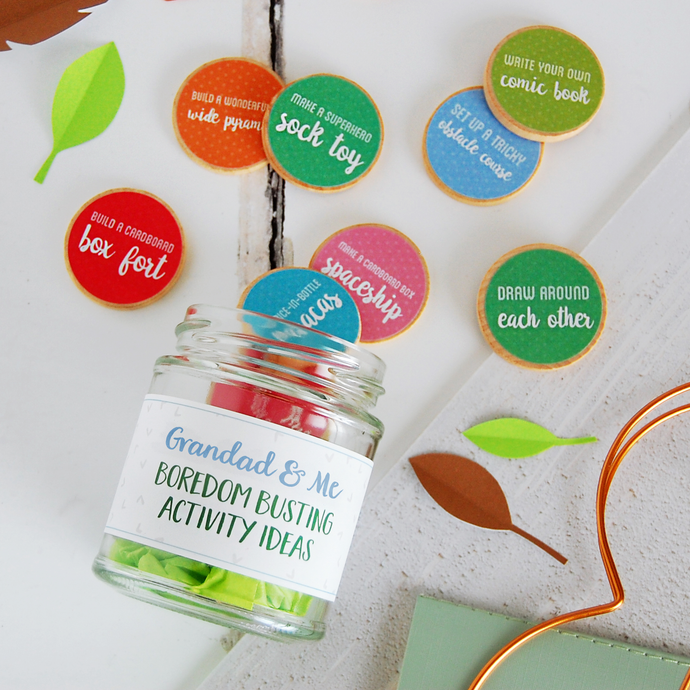 AJ-F-04 / Grandad And Me Activity Tokens Jar