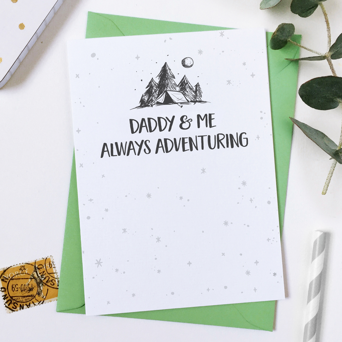 CA6-FD-05 / Always Adventuring Father's Day Card