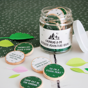 AJ-F-08 / Grandad And Me Outdoor Adventure Ideas Jar