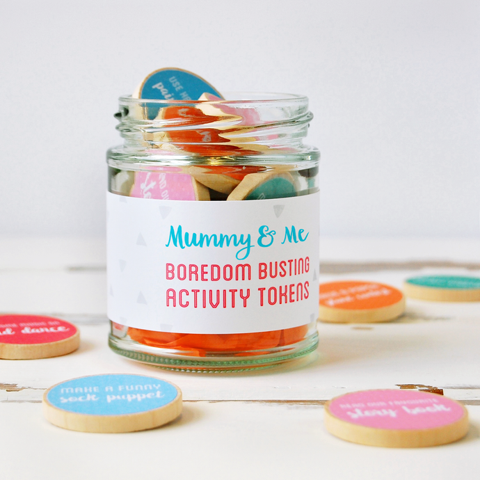 AJ-F-02 / Mummy And Me Activity Tokens Jar