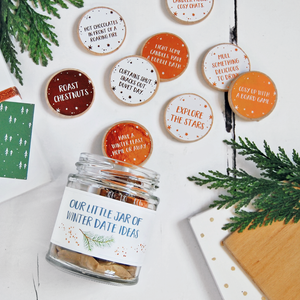Couple's Winter Date Ideas Jar