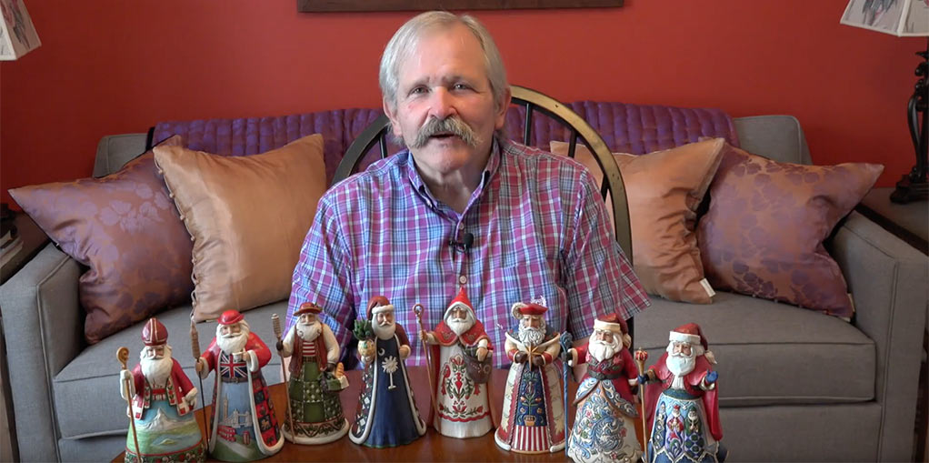 Jim Shore Santas Around The World