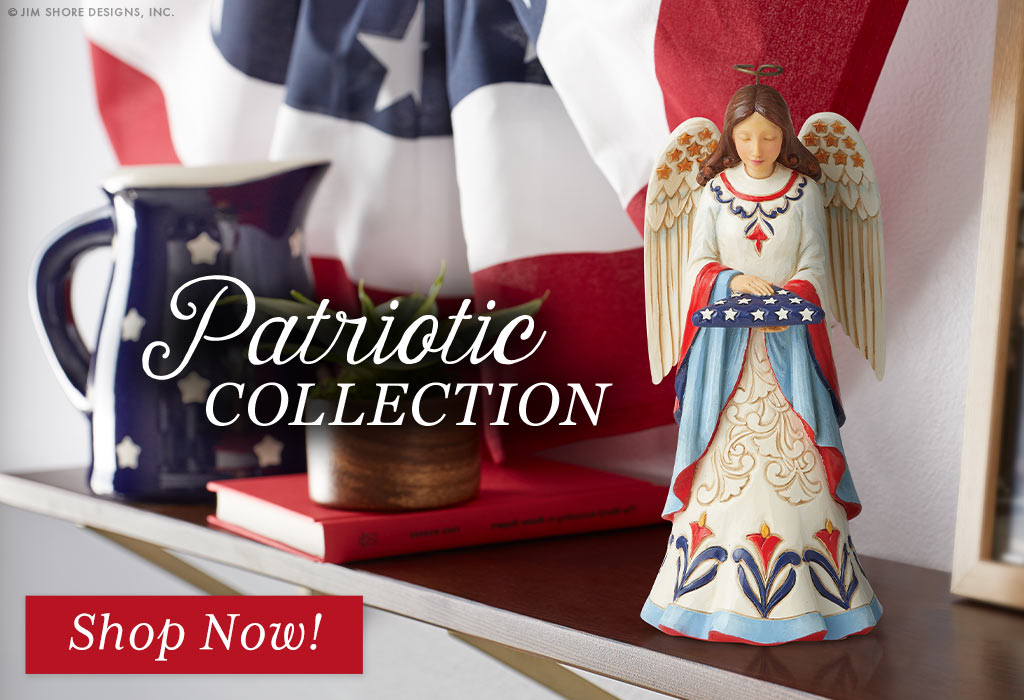Shop Patriotic pieces for President's Day!