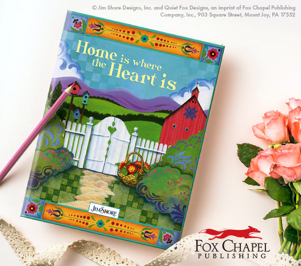 Home is Where the Heart Is Journal by Jim Shore