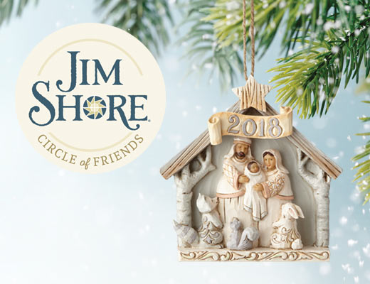 Jim Shore Circle of Friends Ornament