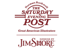 The Saturday Evening Post by Jim Shore logo