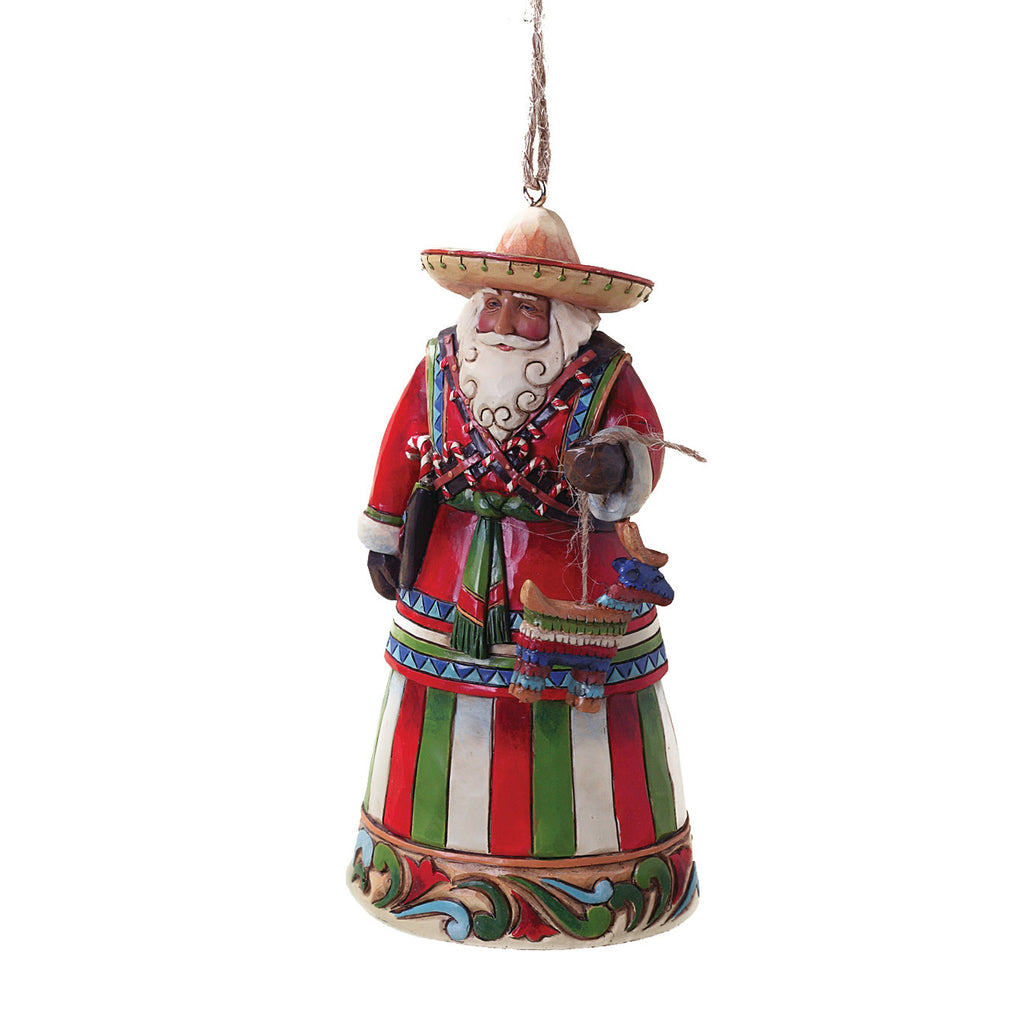 Mexican Santa Ornament