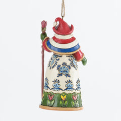 Dutch Santa Ornament
