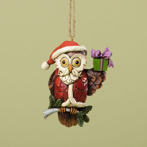 Christmas Owl Ornament