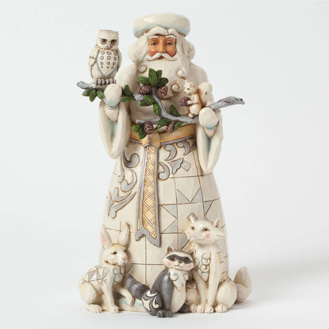 Woodland Santa with Animals