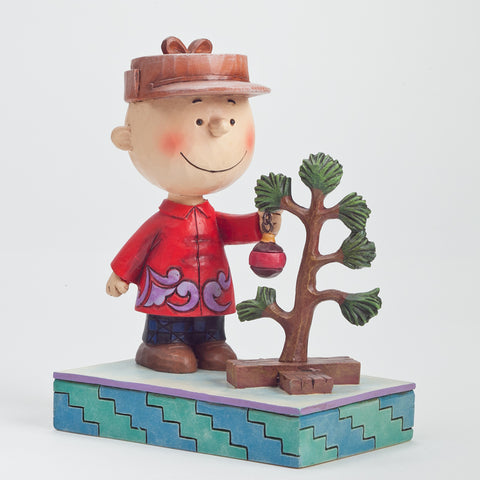 Charlie Brown with Tree