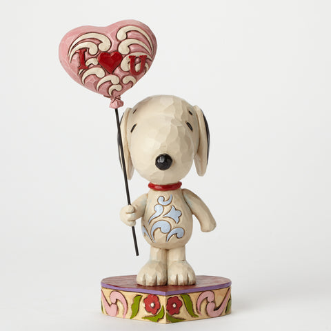 Snoopy with Heart Balloon