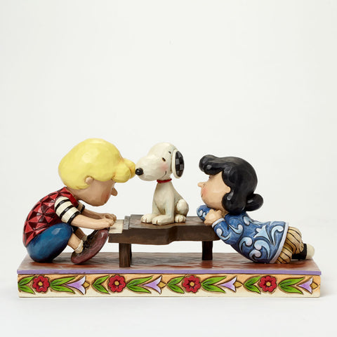 Schroeder with Lucy & Snoopy