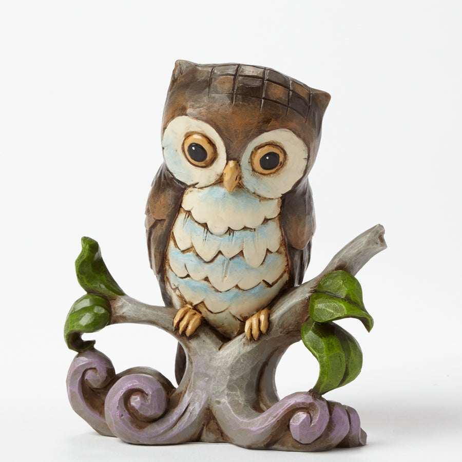 Mini Owl on Branch