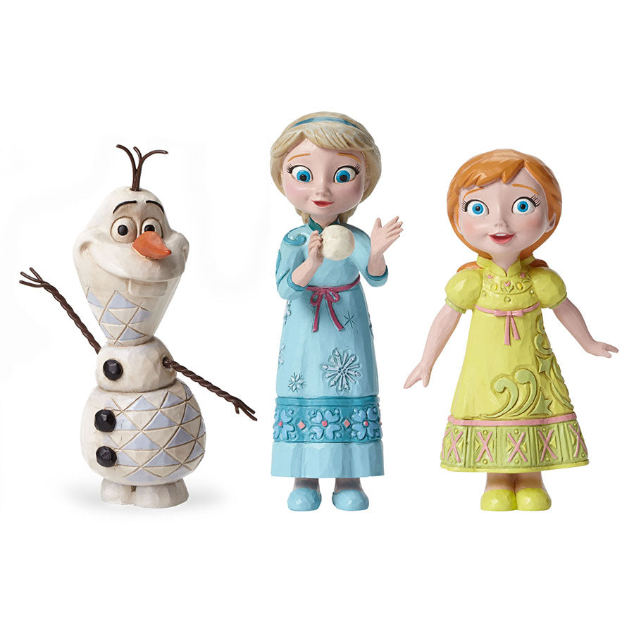 Young Olaf, Anna and Elsa Set