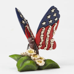 Mini Patriotic Butterfly