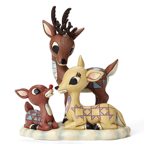 Rudolph with Donner and Mother