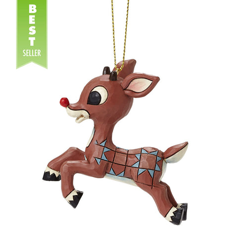 Rudolph Flying Ornament