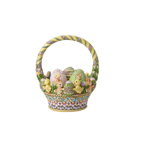 Easter Basket w/3 Eggs 12thAnn