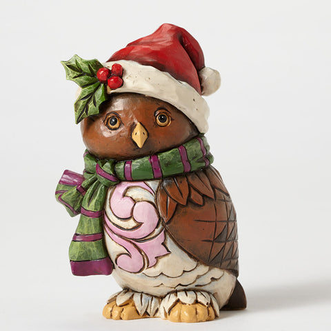 Pint Sized Christmas Owl