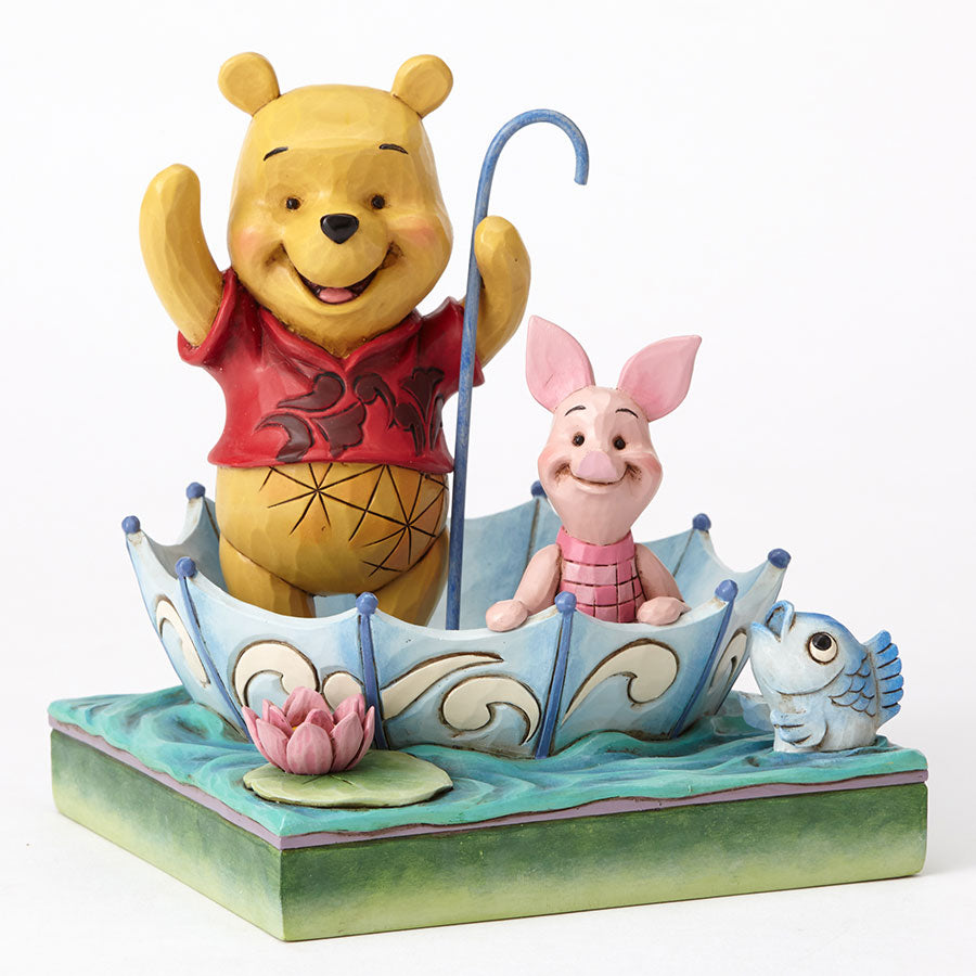 Pooh and Piglet Sharing