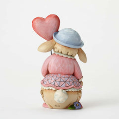 Pint Size Bunny w/Love Balloon
