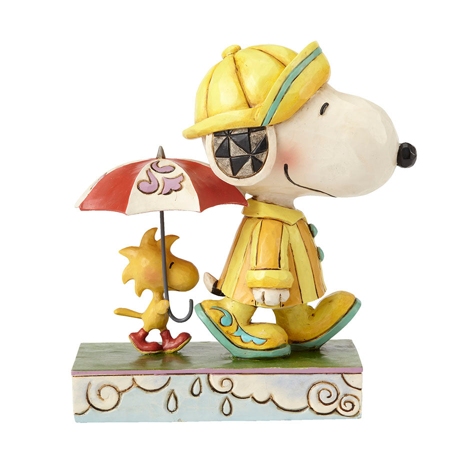 Platinum Snoopy and Woodstock