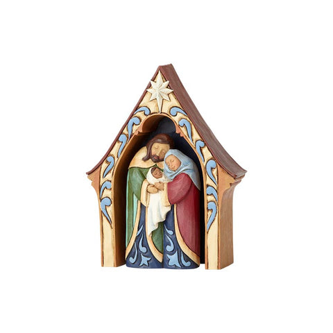 Creche And Holy Family