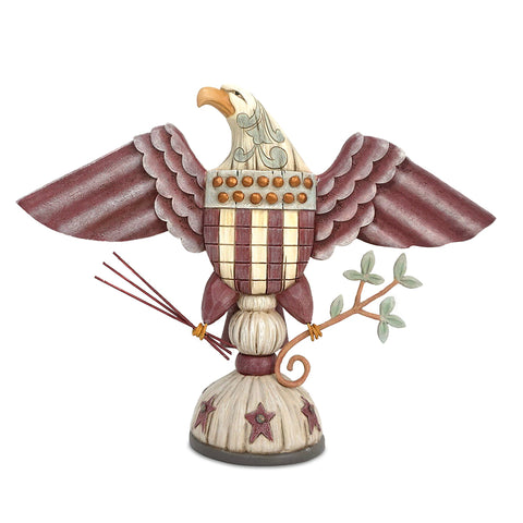 Patriotic Eagle w-ArrowsBranch