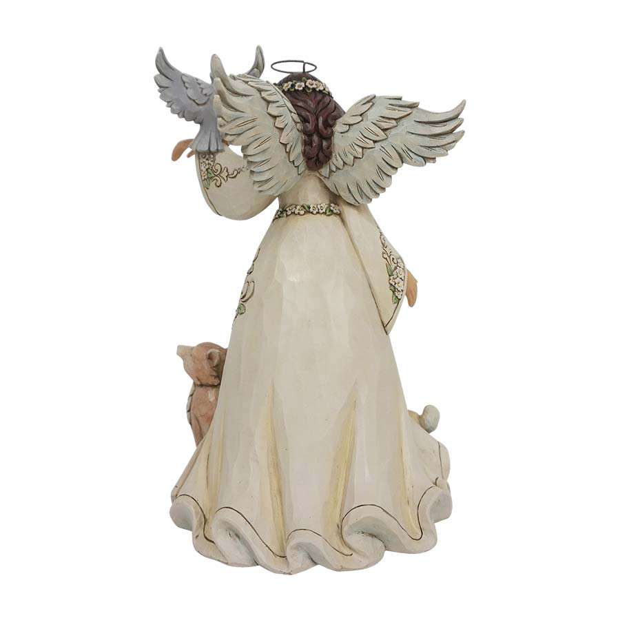 Spring White Woodland Angel