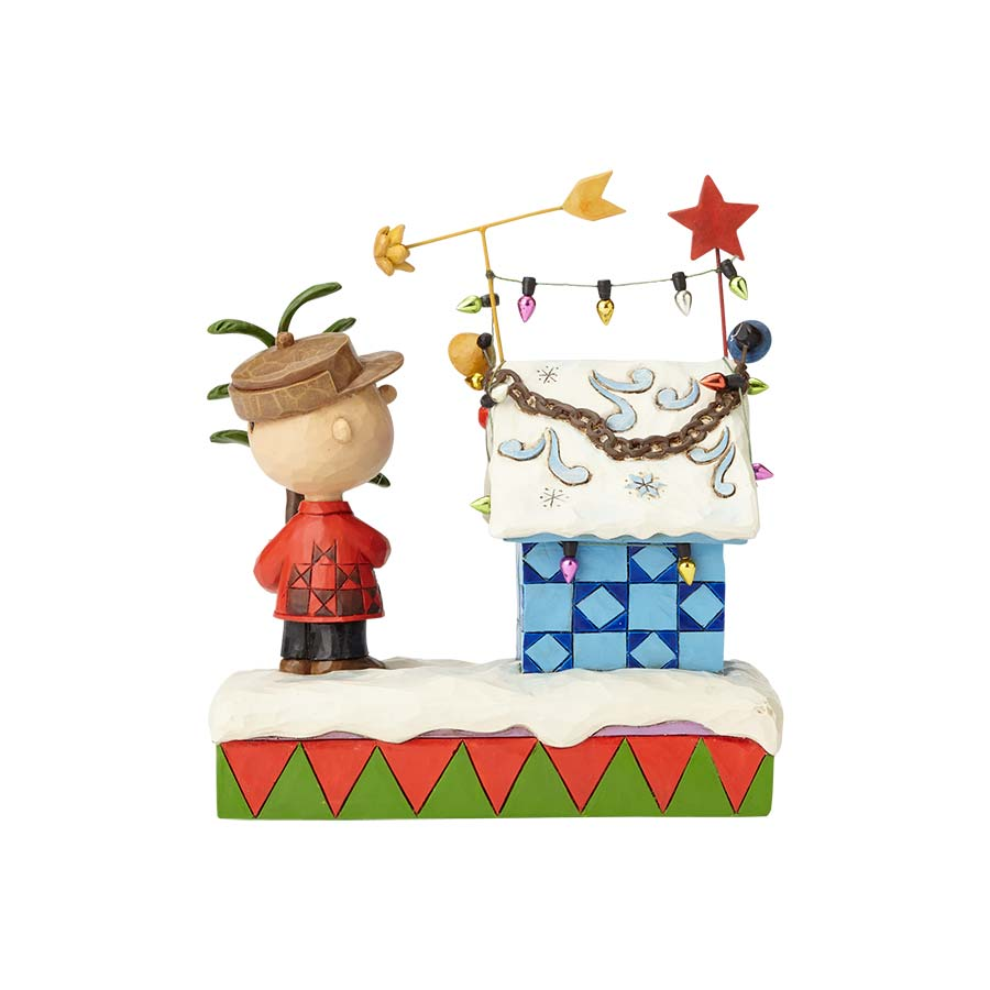 Charlie Brown & Decorated Dogh