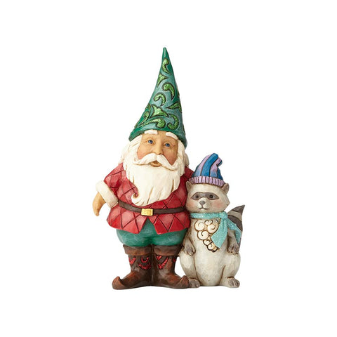 Wonderland Santa Gnome/Raccoon