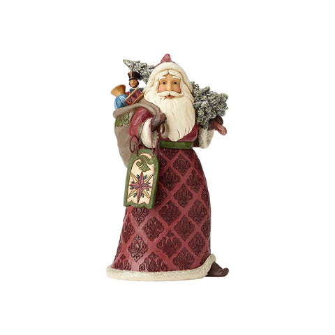 Victorian Santa with Sled