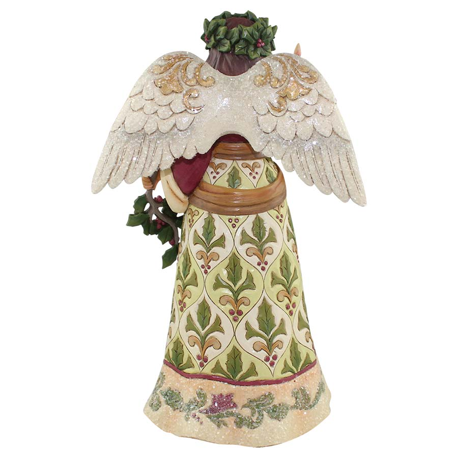 Victorian Angel with Candle