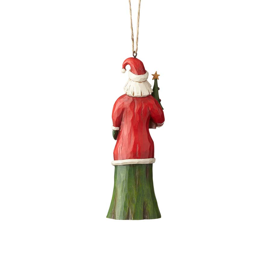 Folklore Santa w/Tree Ornament