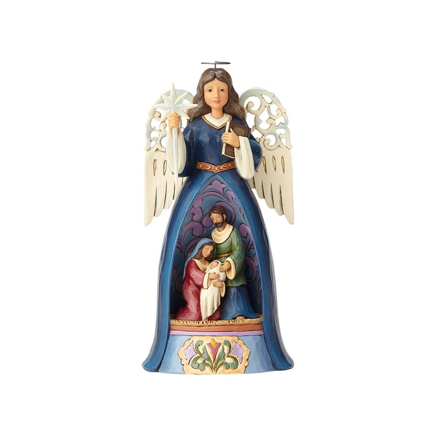 Nativity Angel w/Pierced Wings