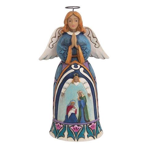 Mini Nativity Standing Angel