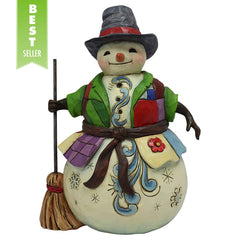 Pint Sized Snowman w/PatchCoat