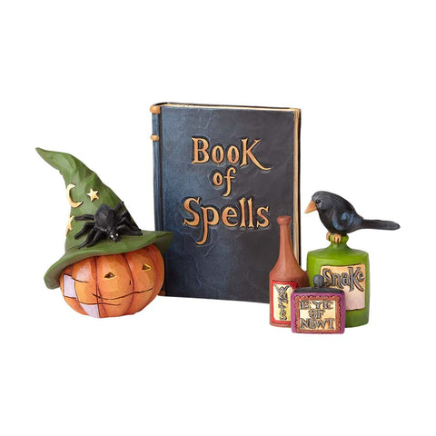 Pumpkin w/Hat, Book, Potion St