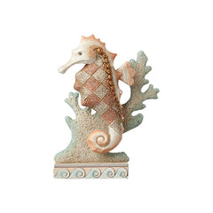 Seahorse with Coral