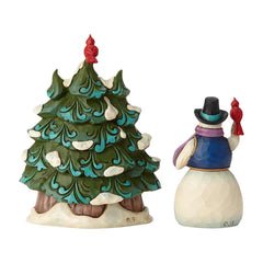 Snowman and Tree Mini Set