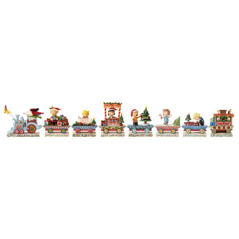 Peanuts Train 8 Pc Gift Set